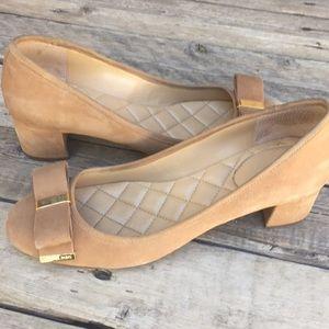MK suede shoes